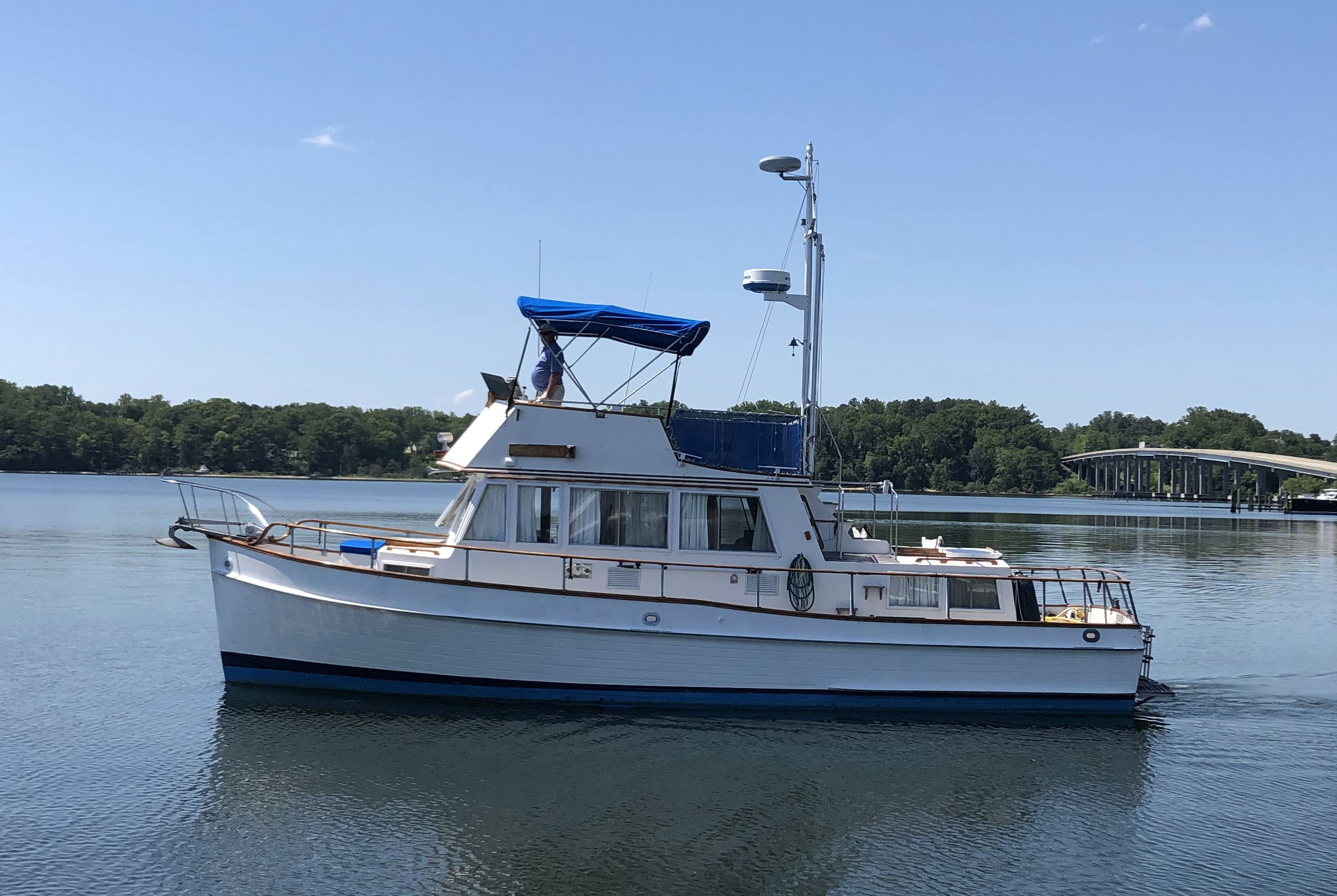 36 ft Grand Banks Classic Image