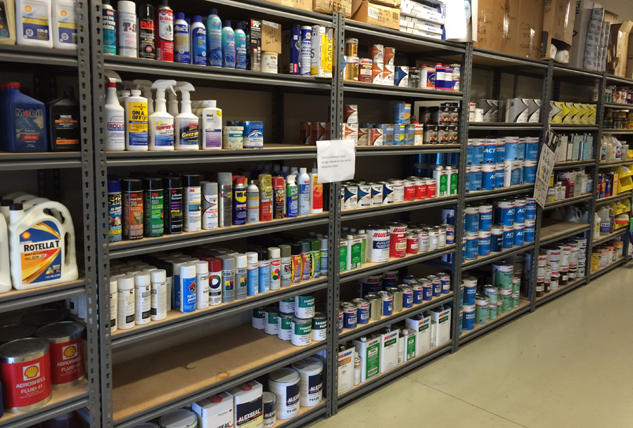 Large Paint Selection
